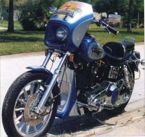 1994 Harley Davidson FXDL V Twin Cafe Racer